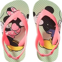 Disney© Minnie and Mickey Mouse Flip-Flops for Baby
