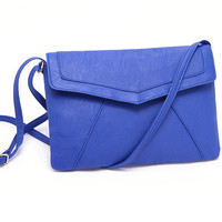 Leather Envelope Shoulder Bag