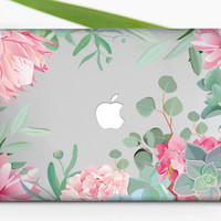 Flowers MacBook Pro Retina 13 Case Mac Air 11 Case  Floral MacBook Cover MacBook Pro 15 Cover Macbook Hard Case MacBook Air 11 Case m011
