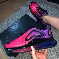 Nike Air Max 720 Fashion Women Casual Air Cushion Sport Running Shoes Sneakers Purple