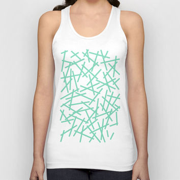 Kerplunk Mint Unisex Tank Top by Project M