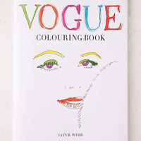 Vogue Coloring Book By Iain R. Webb - Urban Outfitters