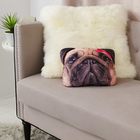Pug Bean Pillow