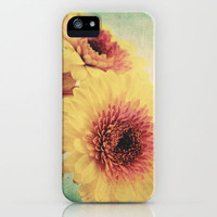 Sunny Gerbera iPhone Case by AD DESIGN Photo + PhotoArt | Society6