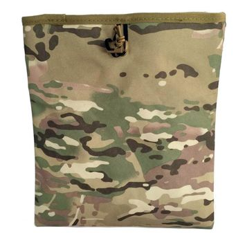 Military Tactical Mag Dump Pouch Airsoft Paintball Recovery Molle magazine Pouch Hunting Slingshot Ammo Bags