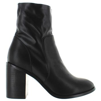 Chelsea Crew Kaya - Black Leather Boot