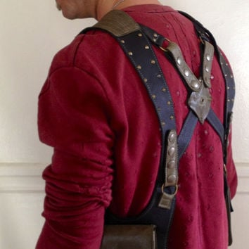 how to make a custom shoulder holster