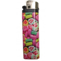 CANDY HEARTS LIGHTER