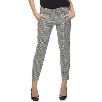 Juniors' Candie's® Audrey Gingham Ankle Pants
