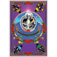 Grateful Dead Blacklight Poster
