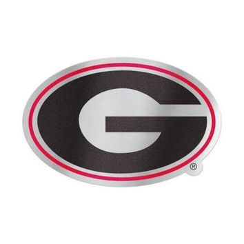 DCCKG8Q NCAA Georgia Bulldogs Vinyl Decal