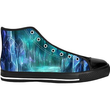 Midnight crystals High Tops