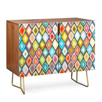 Sharon Turner Almas diamond ikat Credenza