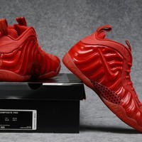 Air Foamposite Pro Red Basketball Shoe