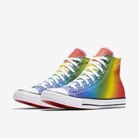 The Converse Chuck Taylor All Star Pride Geostar High Top Unisex Shoe.