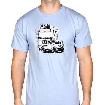 Adventure Vehicle Tee Shirt in Carolina Blue by YETI