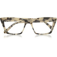 Prism - Seoul matte-acetate optical glasses