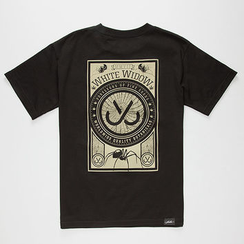 Jslv Widow Pocket Mens T-Shirt Black  In Sizes