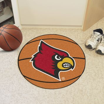 "Louisville Basketball Mat 27"" diameter"