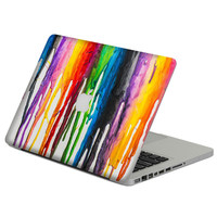 "Colorful Oil Painting Laptop Decal Sticker Skin For MacBook Air Pro Retina 11"" 13"" 15"" Vinyl Mac Case Body Full Cover Skin"