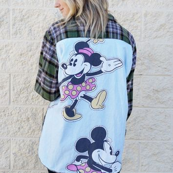 Minnie Reworked Flannel