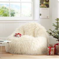 Ivory Furlicious Leanback Lounger