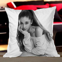 Ariana Grande - Design Pillow by CherryPerfecly