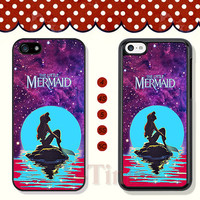 Disney, little mermaid, iPhone 5 case iPhone 5c case iPhone 5s case iPhone 4 case iPhone 4s case, Samsung Galaxy S3 \S4 Case --X50397