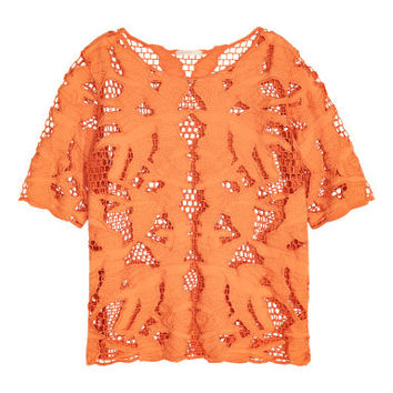 H&M Openwork-embroidered Top $39.99
