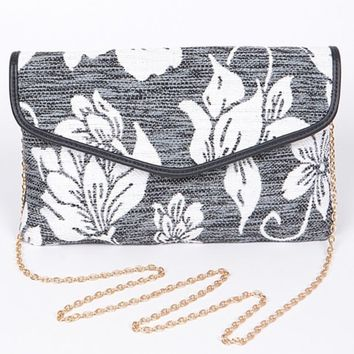 Anzell Floral Fabric Purse