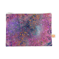 "Marianna Tankelevich ""Pink Universe"" Pink Purple Everything Bag"