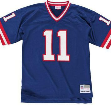 Mitchell & Ness Phil Simms 1986 Replica Jersey New York Giants In Royal - Beauty Ticks