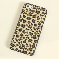 leopard print hard case for iphone 4/4s/5
