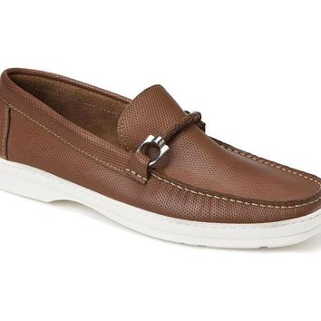 Benito Tan Leather Bit Loafer
