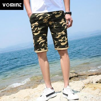 Camouflage Yellow White Short Trousers
