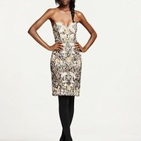 Sue Wong Floral Embroidered Dress - Party - Bloomingdales.com