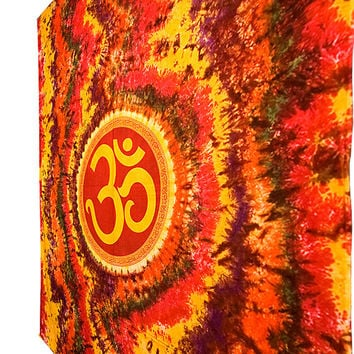 Tie Dye Tapestries Tapestry, Om Psychedelic Tapestry Throw, Hippie Tapestry Wall Hanging, Bohemian Om Tapestries, Boho Dorm, Wall Tapestries
