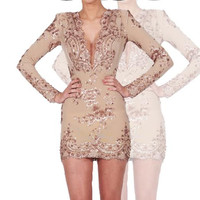 Jeanette Sequin Dress