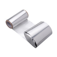 500cm x 10cm Aluminum Foil Paper With Nail Polish Remover For UV Gel Wraps Remove gel nail
