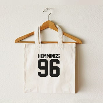 Luke Hemmings - 5SOS - 5 Seconds of Summer -Tote bag--Shopping-Ipad bag-Macbook bag-CCT-TTB-047