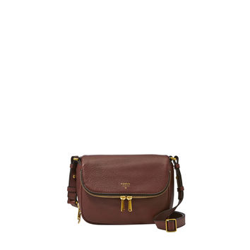 Preston Flap Crossbody, Espresso