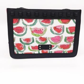 Watermelon Canvas Crossbody Bag