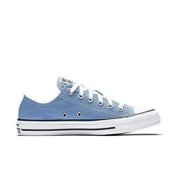 DCCK1IN converse unisex chuck taylor all star low top pioneer blue sneakers 6 5 b m us wome