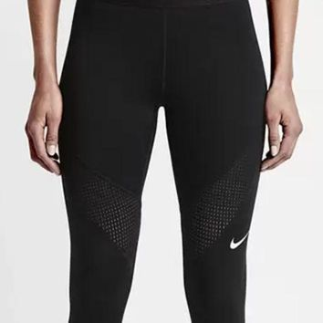 ICIKHV3 shosouvenir :Nike Pro Exercise Fitness Gym Running Training Leggings