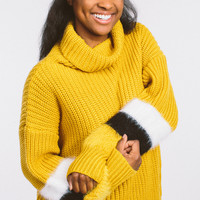 Do You Miss Me Sweater - Mustard