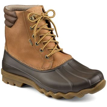 Avenue Duck Boot in Tan and Brown by Sperry