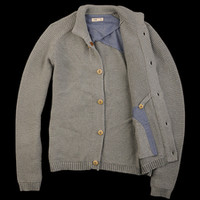 UNIONMADE - Folk - Button Up Cardigan in Limestone