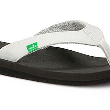 Sanuk Yoga Zen White Sandals