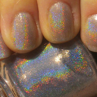 "Spectraflair Nail Polish - ""GYPSY"" - Holographic - Hand Blended - Lavender - 0.5 oz Full Sized Bottle"