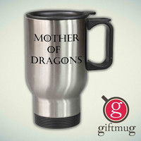 Mother of Dragons, Game of Thrones 14oz Stainless Steel Travel Mug